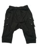 FOUR FRAP HALF PANTS -BLACK-