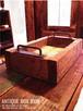 数量限定 アンティーク 古材 ボックス アイアン 収納箱 木箱 多目的 ポテトボックス マルチボックス ウッドボックス アイアンハンドル