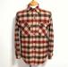 1960's Woolrich ブロックチェックウールシャツ 表記(M)