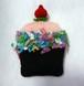 クレジット決済以外も可「カップケーキのポケットティッシュケース」印刷物 編み図(印刷料・送料込み)