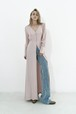 Silk maxi dress / Pink