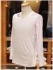 USUALIS collection           ウザリスコレクション  - Italy -     Vネック 長袖Tシャツ