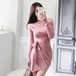 【スリムフィットスーツ】インスタ映え ボディコン 彼氏が喜ぶレディースファッション 誕生会 記念日コーデ フォーマル女性