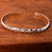 Hawaiian Jewelry Silver 925 / 6mm幅 Open Bangle