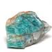 天然アマゾナイト原石14.2g(アメリカ・コロラド産)標本用☆天河石