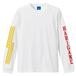 HARIGANE ロングTシャツ(ホワイト)
