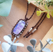 *Moonlight* Rainbow Moonstone Necklace