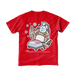 <レッドTシャツ 背面>風邪みーちゃん