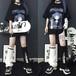 8月出荷 ゴスロリ系 CRAZYGIRL 半袖 Tシャツ CRAZYGIRLロゴ 病み少女 ゴシックプリント 病み可愛い ロリィタ  オルチャン ストリート系 原宿系 10代 20代