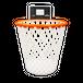【ユニークなゴミ箱!】ウェイストバスケット