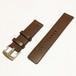 本革ベルト simpleデザイン(ブラウン)22mm for SKX007  SKX009    B-SSPBR