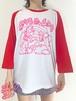 ユニコーンラグラン 七分袖 Tシャツ