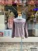 WOMENS:NEEDLEWORKS STANDARD【ニードルワークススタンダード】Smile T-shirt(ブラウン/S,M,Lサイズ)スマイルTシャツ