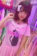 かわいい黒猫切り替えドレス/魔法都市東京