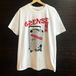 【6SENSE】T-shirt -Carry the dream-(WHITE)