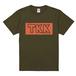 TKKロゴTシャツ(カーキ)