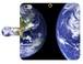 スマホケース手帳型 地球