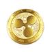 [限定] リップル メダル XRP ゴールド仕上げ Made in Japan 真鍮製 リアルコイン 日本製