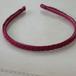 三つ編みカチューシャ 紅