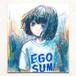 色紙ドローイング「EGOSUM」