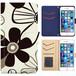 全機種対応 手帳型ケース iPhone Xperia Zenfone Aquos Galaxy Arrows Huawei Digno Raijin JDC147flower