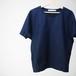 Shirts Fab. dolman cut&sew Navy ykcs-102