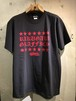 RAKUGAKI STAR OLD ENGLISH Logo T-Shirts CARBON x RED