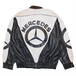 """Mercedes Benz"" Bootleg Vintage Leather Jacket Used"