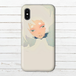 #003-001 iPhoneケース スマホケース 《白鷺の君》 作:黒糖からす オリジナルデザイン 儚さ系 ファンタジー系 iPhoneX対応 Xperia ARROWS AQUOS