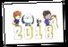 にこいちカレンダー2018