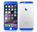 iPhone6、iPhone6Plus用 両面カスタムデザイン液晶フィルムシール(ブルー)