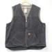 Carhartt duck vest black