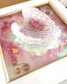 オルゴナイト 天使の羽  (ピンク) 壁掛け