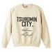 TSUBOMIN / TSUBOMIN CITY CREWNECK SWEAT NATURAL
