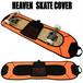 スケートボード用カバー オレンジ スケボーカバー