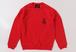 FUNKA CREW NECK RED/BLACK