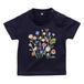 お花柄 ベビーTシャツ 秋色 ★名前入可能