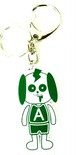 Wannonキーホルダー(緑)