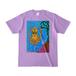 【グッズ】送料込「だべイカ」Tシャツ [色:ライトパープル]