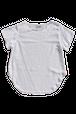 コットンシンプルシャツ 白/グレー  Cotton Simple Shirts WH/Grey
