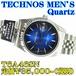 テクノス 紳士 クォーツ T6A46SN 定価¥35,000-(税別)新品です。