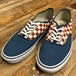 VANS 50th Authentic CHECKERBOARD / BLUE ASHES