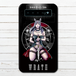 #045-012 モバイルバッテリー おすすめ おしゃれ メンズ iphone Android スマホ 充電器 タイトル:7つの大罪_憤怒 作:kis