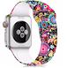 個性が輝く 着けるだけで気分上昇 ソフトシリコン素材で着け心地抜群 アップルウォッチ 替えバンド ブレスレット ベルト Apple Watch belt 38mm/42mm/40mm/44mm ★ [MM006]