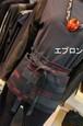 着物リメイク 簡単シンプルオーダーメイド 着物からサロンエプロン