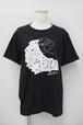 「こころ」Tシャツ(スミクロ)