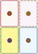 ■リリース記念4種類set A4用紙 045-048【Indian pattern】5枚×4種 1500円