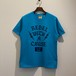 PRINT S/S TEE (TURQUOISE) / LOST CONTROL