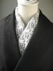 刺繍半衿・メレンゲステッチの半衿・アールヌーボー