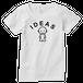 IDEAS/エンブレムTシャツ 101W-WH-レディース